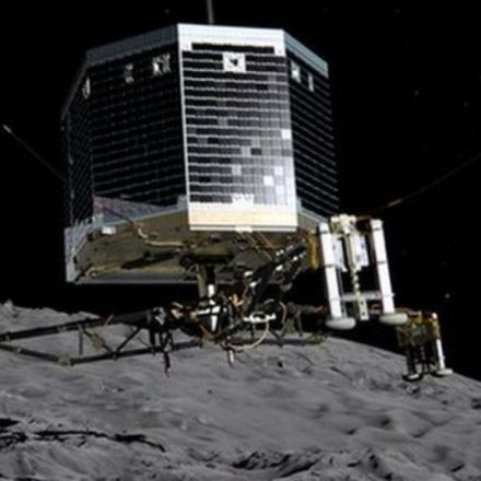 Ground control bids farewell to Philae comet lander