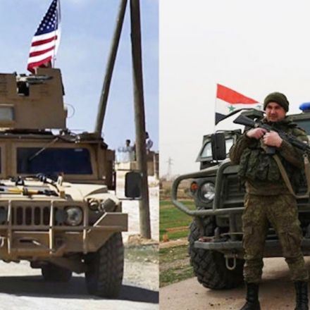 Trump Puts Boots On The Ground In Syria... Right Next To Russian Troops