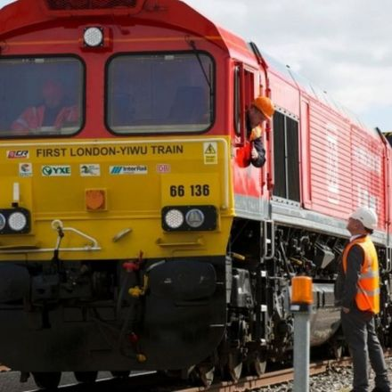 First rail freight service to China departs UK