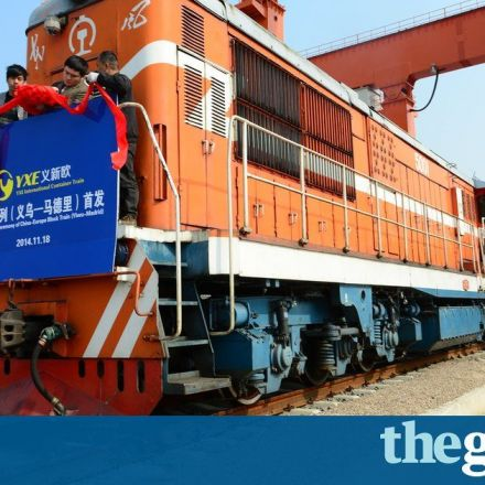 Silk Road route back in business as China train rolls into London