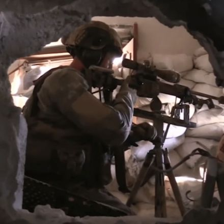 New battlefield video shows how Russia's elite KSO military unit is fighting in Syria