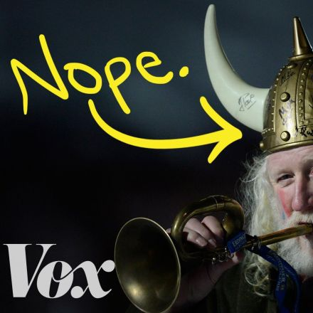 Vikings never wore horned helmets. Here's why we think they did.