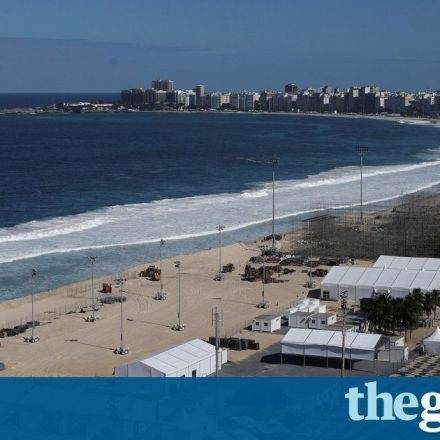 Mutilated body washes up on Rio Olympic beach volleyball venue