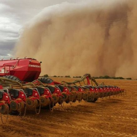 Incredible Photos & Videos of Hoopstad Sandstorm