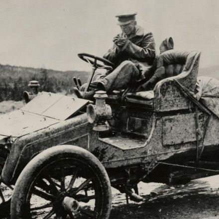 The Tale of a Wild Coast-to-Coast Road Trip … in 1903