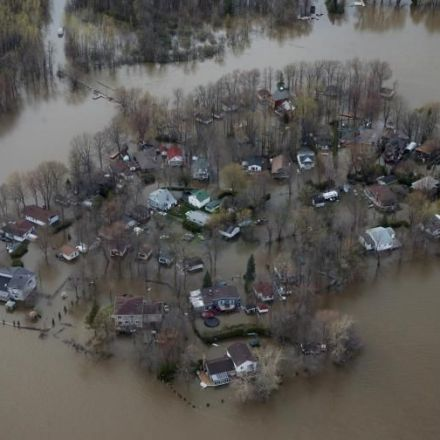 Ile Mercier, Quebec Flooding