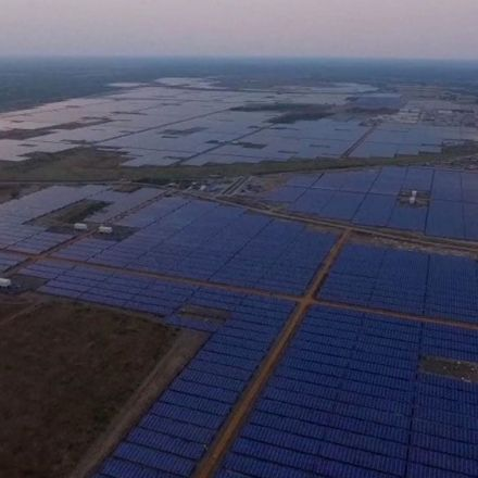 India Unveils the World's Largest Solar Power Plant