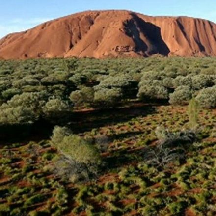 Drone Captures Stunning View of Uluru