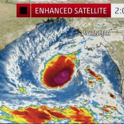 Tropical Cyclone Vardah in Bay of Bengal Expected to Strengthen and May Threaten India This Weekend