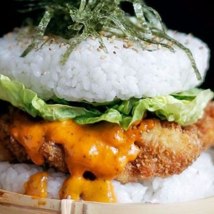 Sushi burgers: It's what you'd have if you can't decide between the two