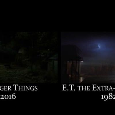 References to 70-80's movies in Stranger Things