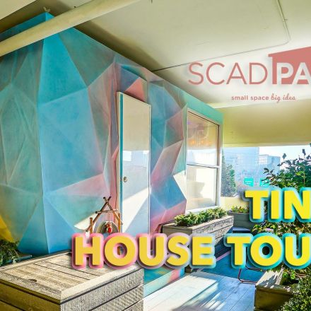 Tiny House Tour - SCADpad Asia