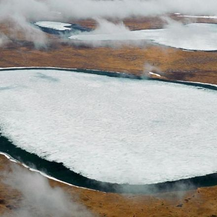 There are diseases hidden in ice, and they are waking up