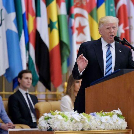 Trump Dials Back Islam Critique as He Basks in Saudi Deals