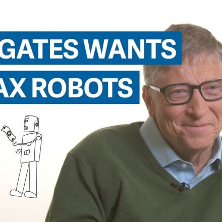 Bill Gates: the robot that takes your job should pay taxes