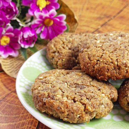Crispy Flourless Flax Cookies (Vegan And Gluten-Free) - MyHealthyDessert