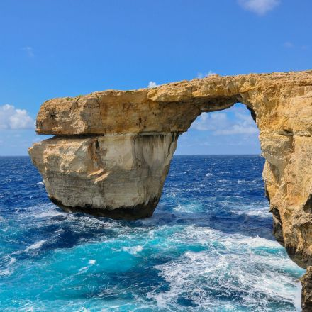 Malta's Azure Window (before today's collapse)