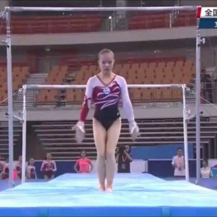 Luo Huan UB Qual 2017 Chinese Gymnastics Nationals