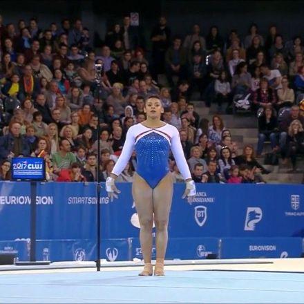 Ellie Downie Wins the 2017 European Gymnastics Championships