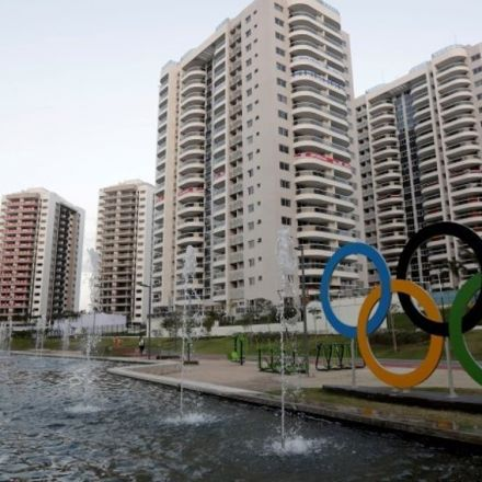 Australians not moving into Olympic Village due to 'blocked toilets, exposed wiring'