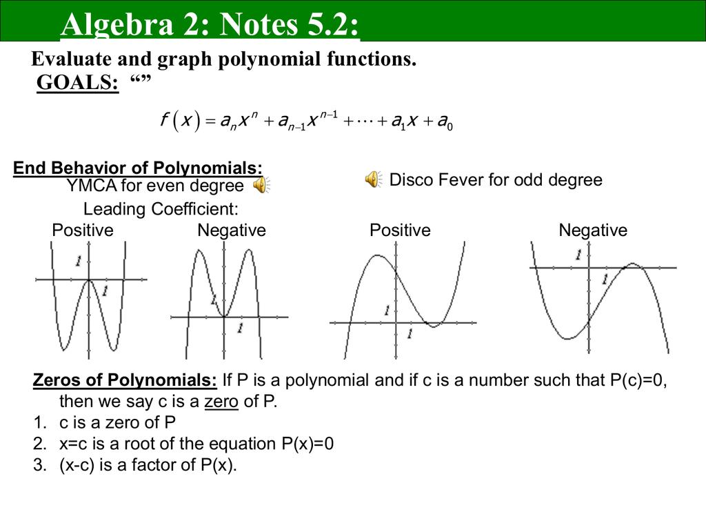 Alg2 Notes 5 2