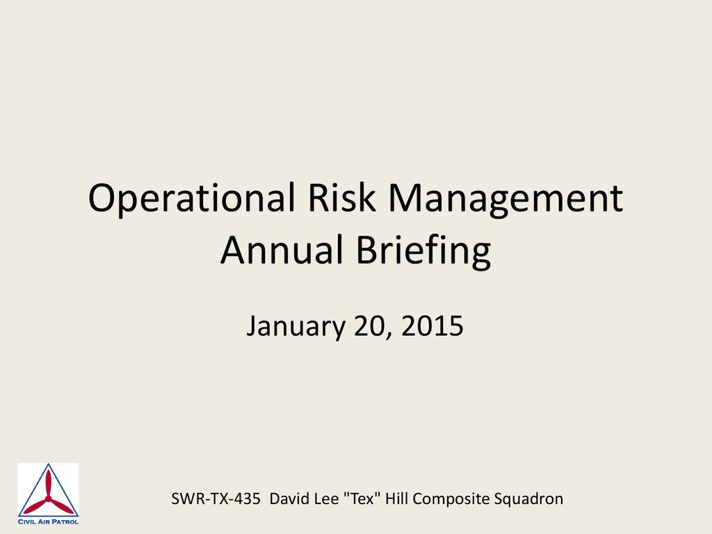 Operational Risk Management Usmc Worksheet