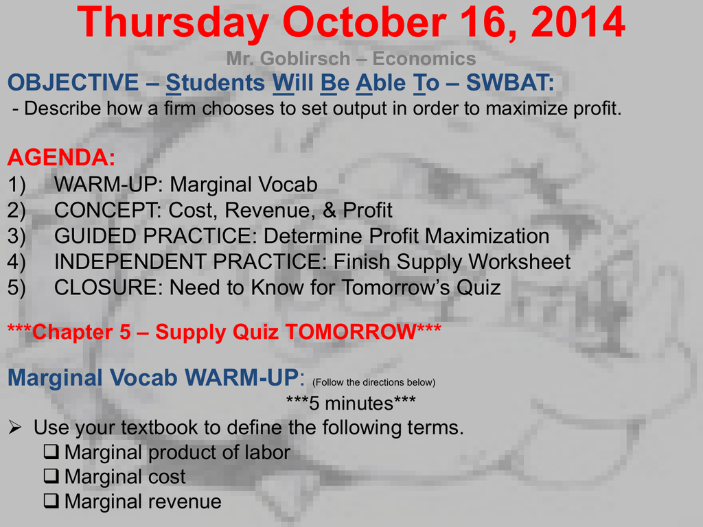 Econ Supply Curve Worksheet Chapter 5 Answers