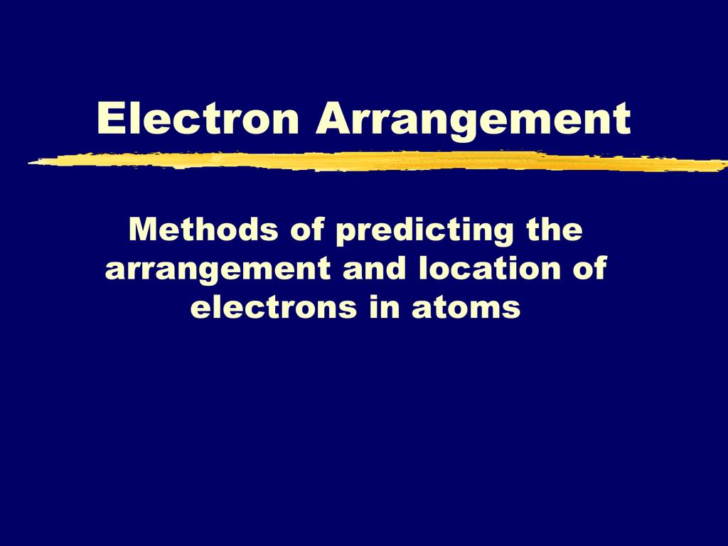 Iv Electron Configuration