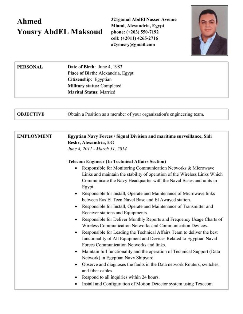 Professional Cv Letter Template Rp Jobs