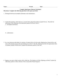 Bio 122 Test Review Questions
