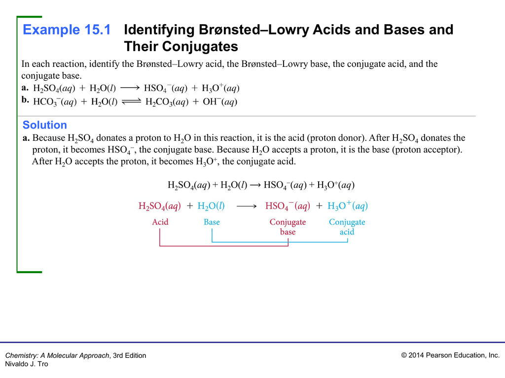 Bronsted Lowry Acids Bases Worksheet Waskom High School