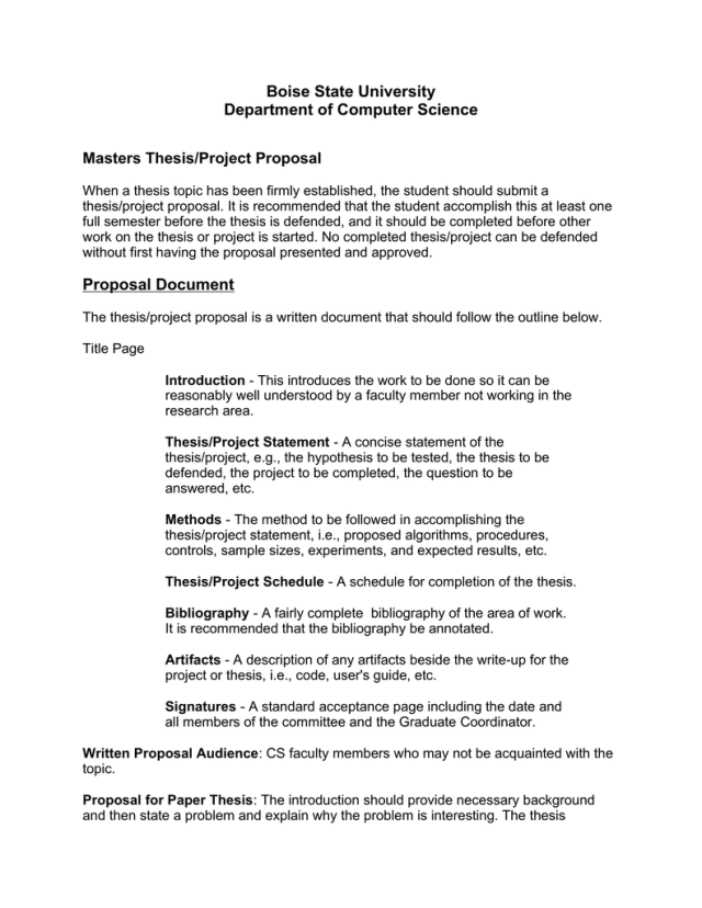 Thesis proposal writing: (PDF) Writing a Thesis/ Research Proposal