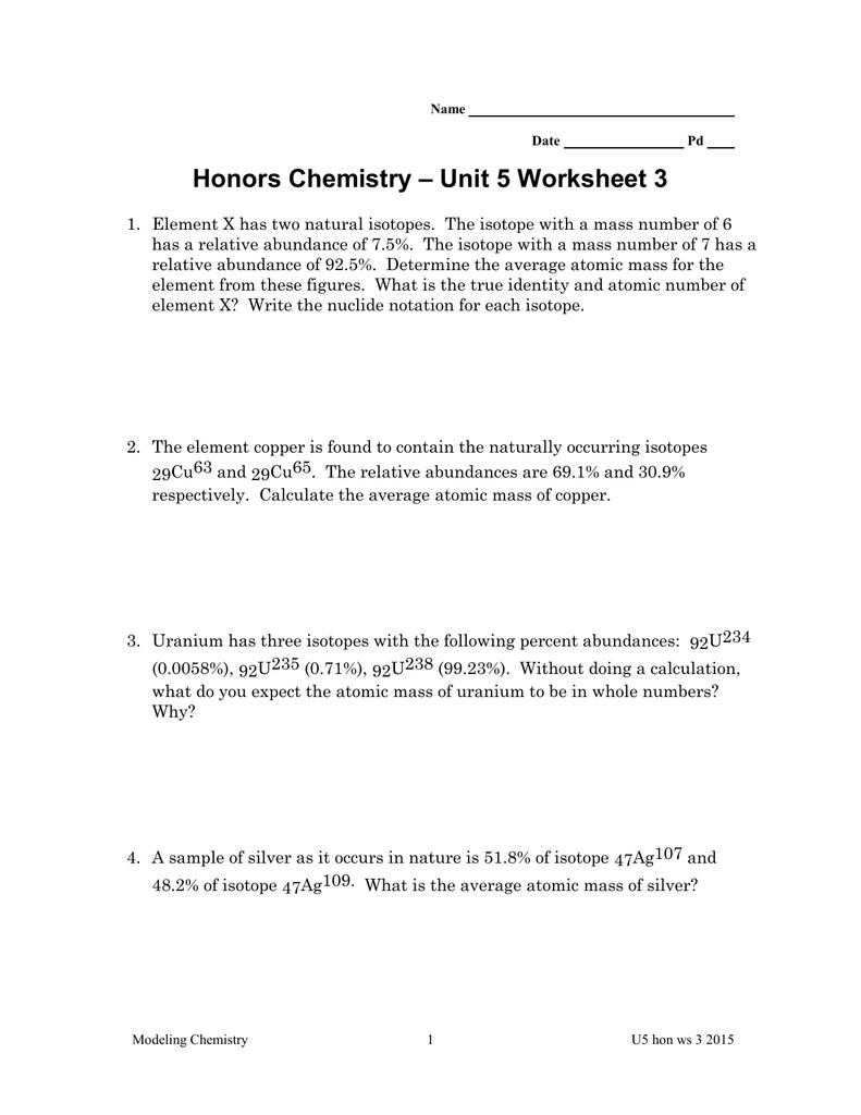Worksheet Atomic Mass Worksheet Grass Fedjp Worksheet