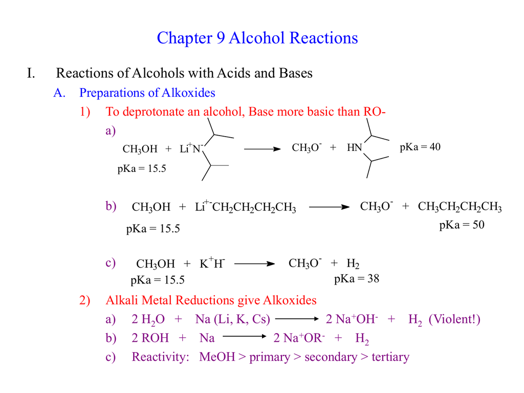 Pbr3 Reaction With Alcohol
