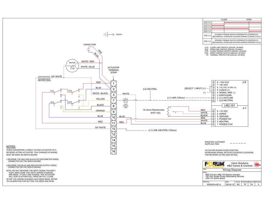 Auma Valve Wiring Diagram Actuators