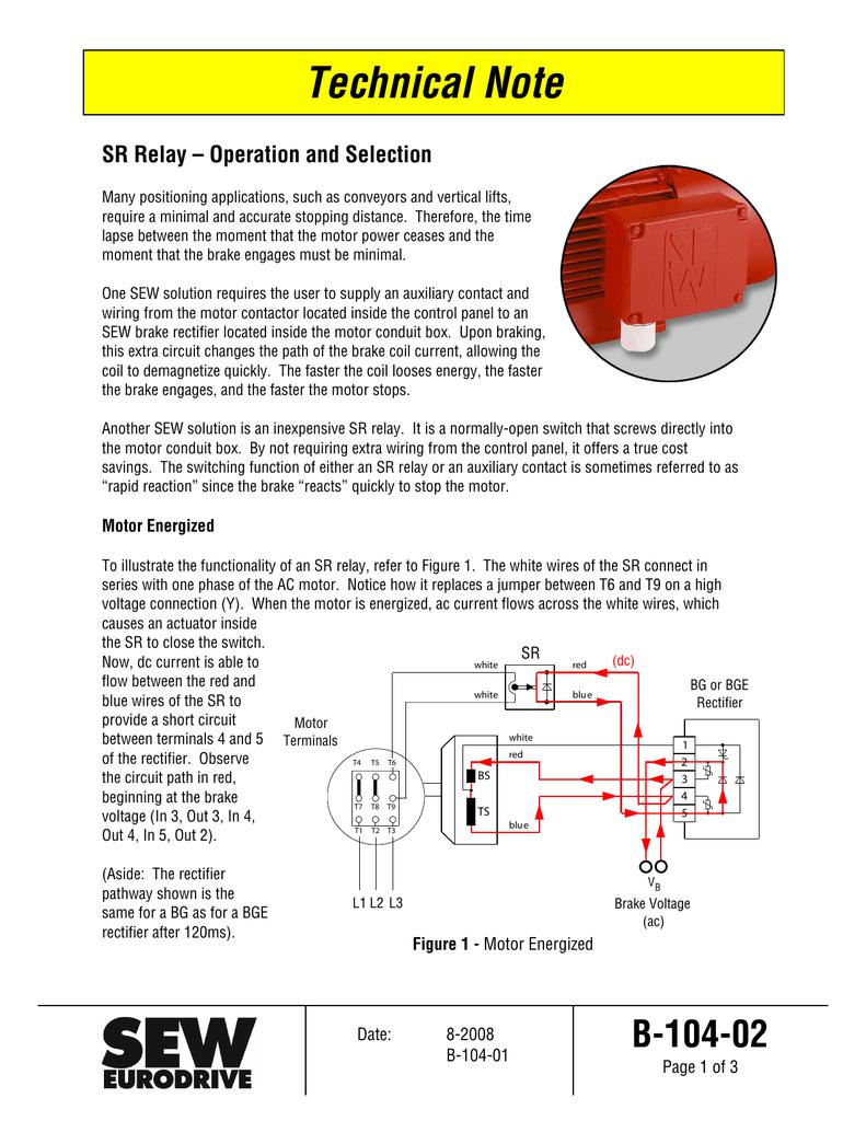 Sew Motor Wiring Eurodrive Diagram