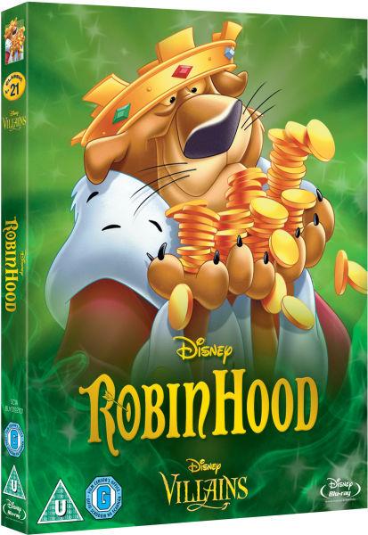 Robin Hood Disney Villains Limited Artwork Edition Blu