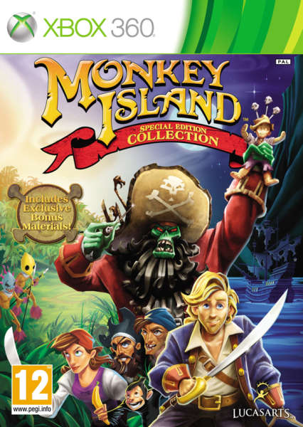 Monkey Island Special Edition Collection Xbox 360 Zavvi