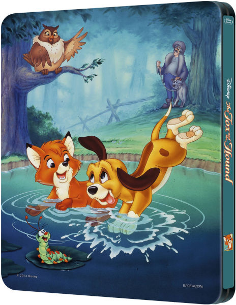The Fox And The Hound Zavvi Exclusive Limited Edition