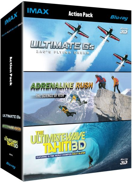 IMAX Adrenaline Rush Collection 3D And 2D Blu Ray Blu