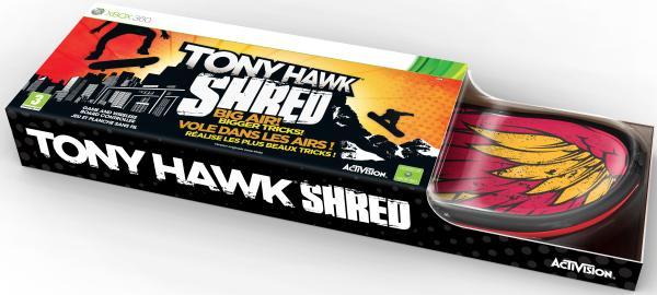 Tony Hawk Shred Board Xbox 360 Zavvi