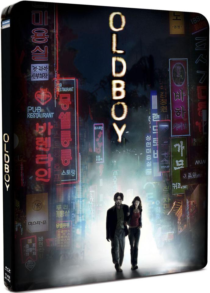 OldBoy Steelbook Edition Blu Ray Zavvi