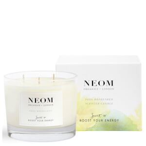 NEOM Feel Refreshed Scented 3 Wick Candle
