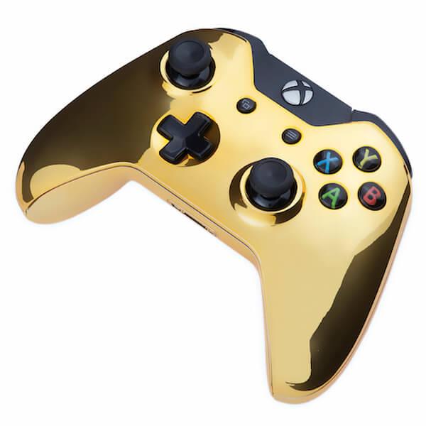 Xbox One Wireless Custom Controller Chrome Gold Edition