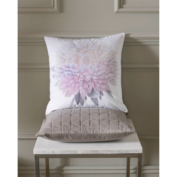 Trend - Karl Lagerfeld Adahli Floral Cushion - Purple