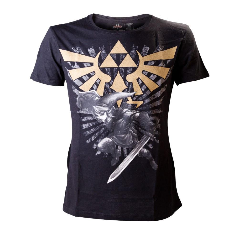 The Legend Of Zelda With Link T Shirt Nintendo