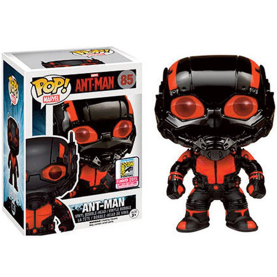 Marvel Ant Man Black Out Ant Man SDCC Exclusive Pop Vinyl