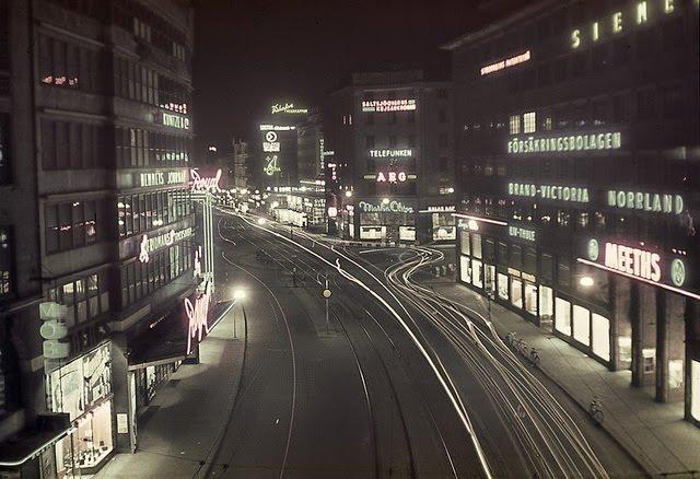 Как жила Швеция в середине прошлого века: подборка атмосферных фотографий