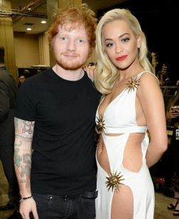 Rita Ora and Ed Sheeran