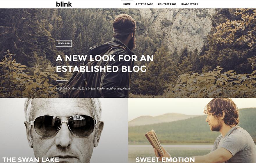 Blink Theme — WordPress com